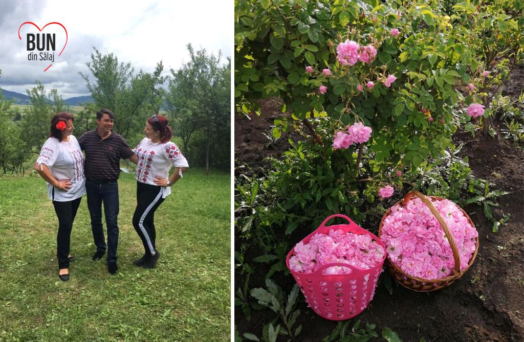 BUN din Sălaj – povești cu producători și consumatori de produs local. Afacere cu parfum de trandafiri