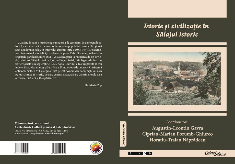 """A apărut cartea """"Istorie și civilizație în Sălajul istoric"""""""