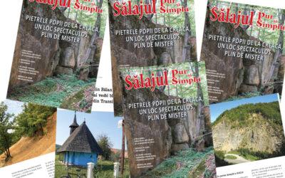 A apărut numărul lunii septembrie (32) al revistei Sălajul pur și simplu