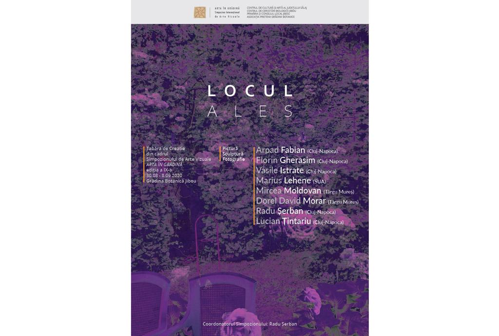 Simpozionul Internațional de Arte Vizuale ARTA ÎN GRĂDINĂ, ediția a IX-a - Grădina Botanică Jibou