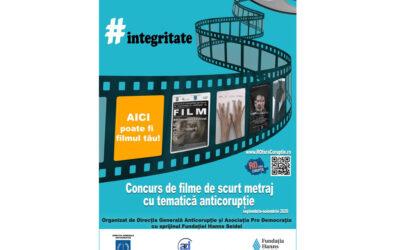 Concurs de film de scurt metraj cu tematică anticorupție