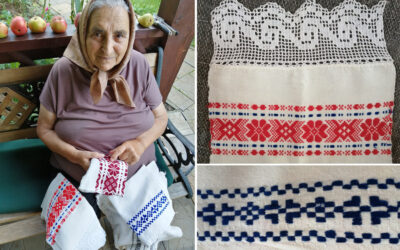 Toamne cu bunica. Ștergarele țesute de străbunica s-au mutat în Germania