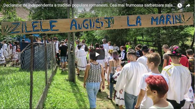 Declarație de independență a tradiției populare românești. Cea mai frumoasă sărbătoare tradițională sălăjeană