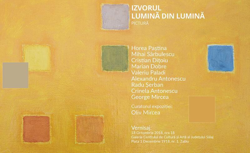 Expoziție de pictură  - Izvorul. Lumină din lumină