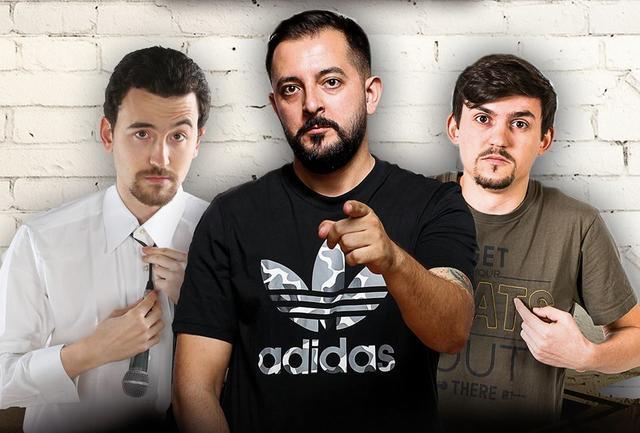 Stand Up Comedy Maraton iUmor x3 cu Gherghe, Drăgan și Iștoc ajunge la Zalău