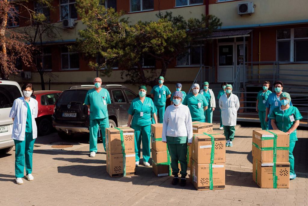 TenarisSilcotub donează 10.000 de măști de protecție pentru cadrele medicale din Spitalul Județean de Urgență Zalău