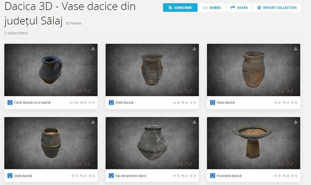 Digi History – program de expoziții online 3D la Muzeul Județean de Istorie și Artă Zalău